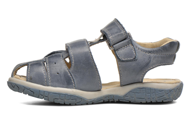Sandales et nu-pieds Noël Tyler Bleu vue face