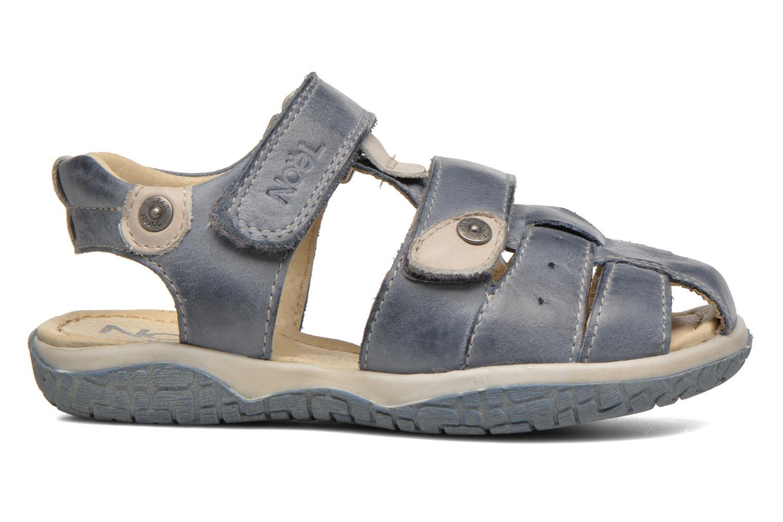 Sandales et nu-pieds Noël Tyler Bleu vue derrière