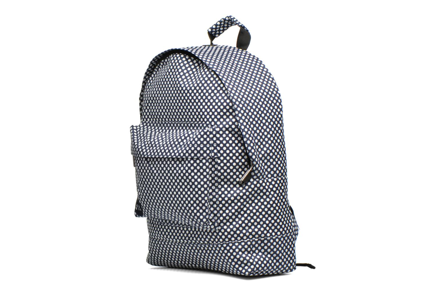 Custom Prints Microdots Backpack Navy