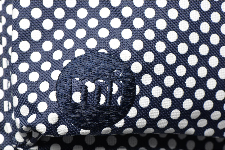 Sacs à dos Mi-Pac Custom Prints Microdots Backpack Bleu vue gauche
