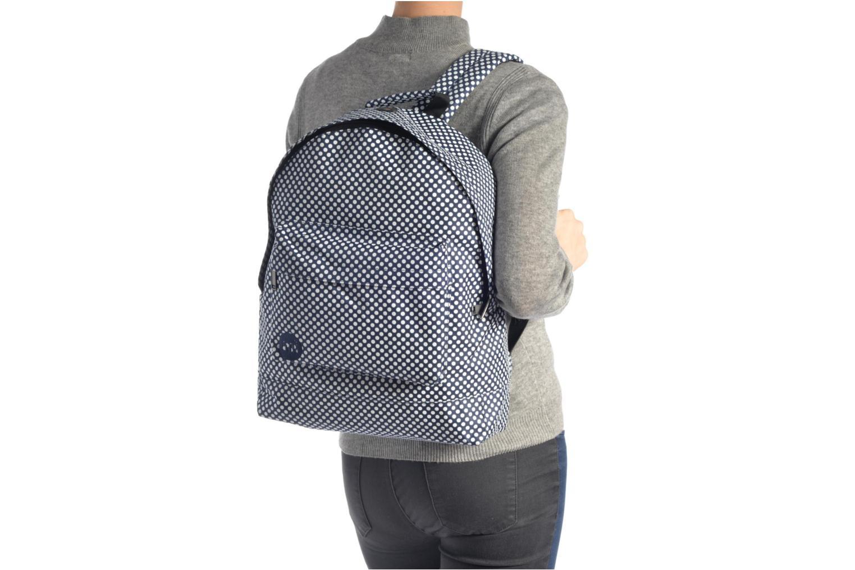 Sacs à dos Mi-Pac Custom Prints Microdots Backpack Bleu vue haut