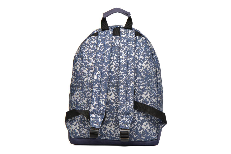 Sacs à dos Mi-Pac Premium Denim Spatter Backpack Bleu vue face
