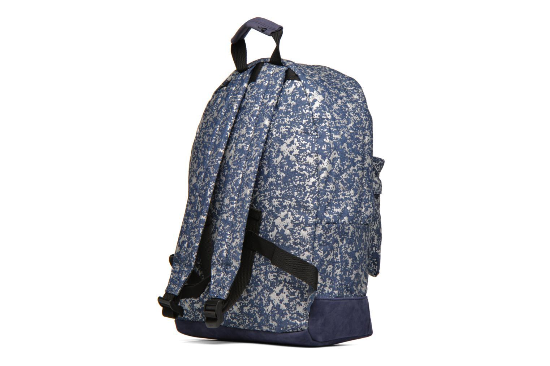 Sacs à dos Mi-Pac Premium Denim Spatter Backpack Bleu vue droite