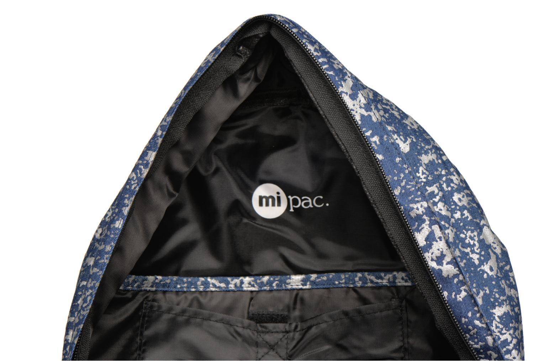 Sacs à dos Mi-Pac Premium Denim Spatter Backpack Bleu vue derrière
