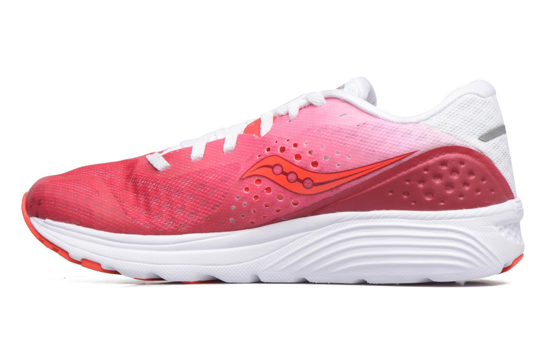 Chaussures de sport Saucony Kinvara 8 W Rose vue face