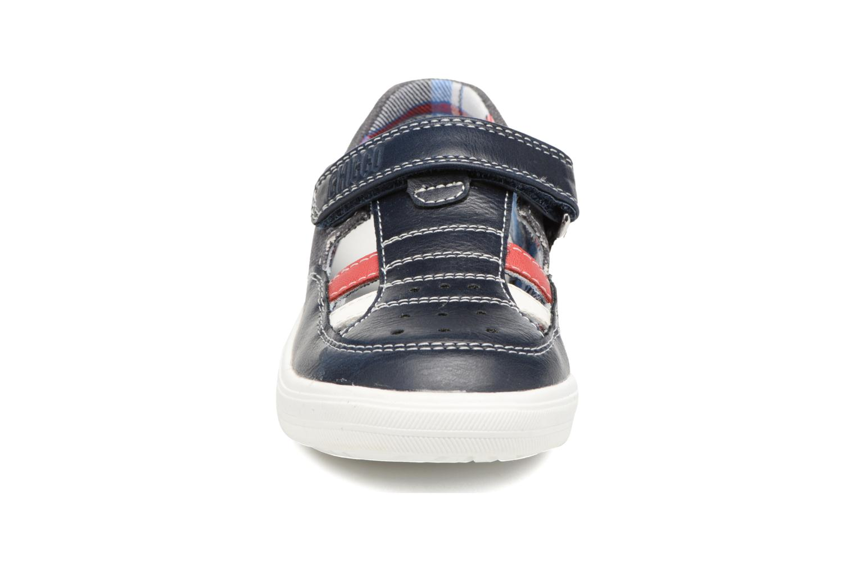Chaussures à scratch Chicco Camino Bleu vue portées chaussures