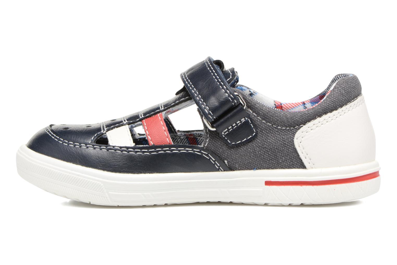 Chaussures à scratch Chicco Camino Bleu vue face