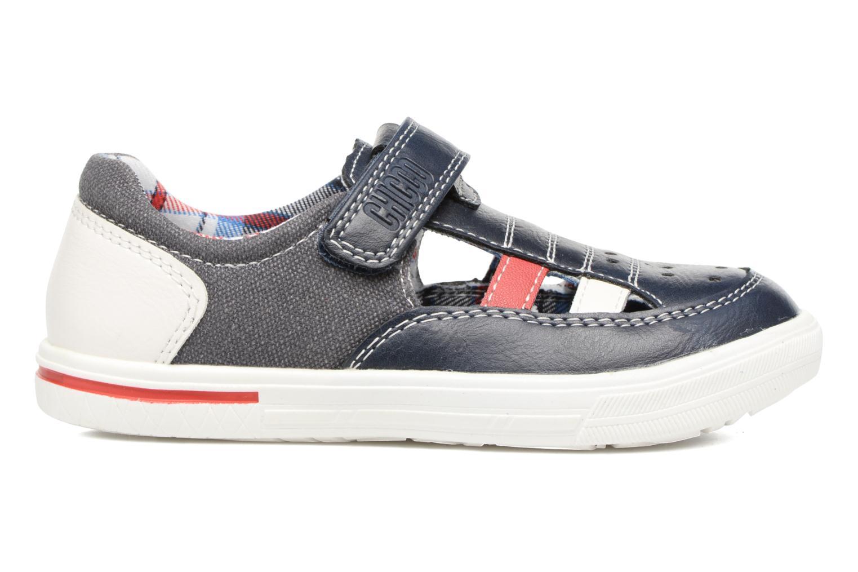 Chaussures à scratch Chicco Camino Bleu vue derrière