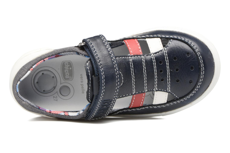 Chaussures à scratch Chicco Camino Bleu vue gauche