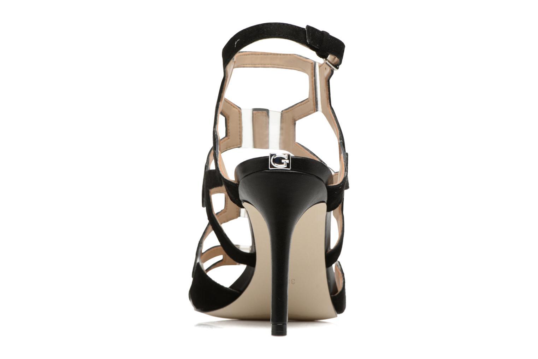 Sandales et nu-pieds Guess CYARRA Noir vue droite