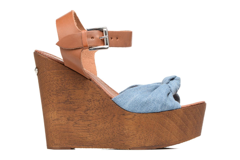 Sandales et nu-pieds Guess BETTA Bleu vue derrière