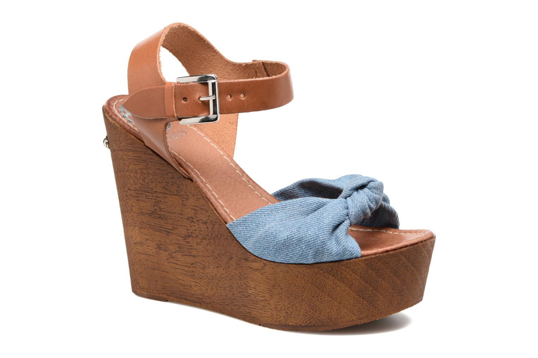 Sandales et nu-pieds Guess BETTA Bleu vue détail/paire