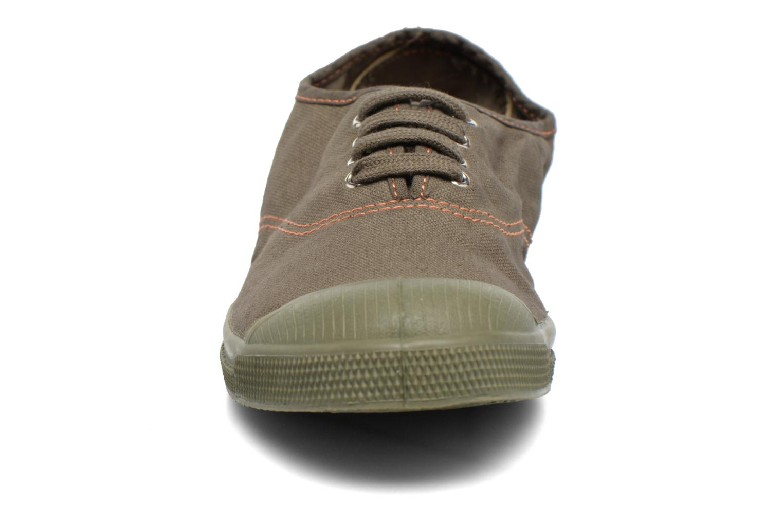 Trainers Bensimon Tennis Militaire Green model view