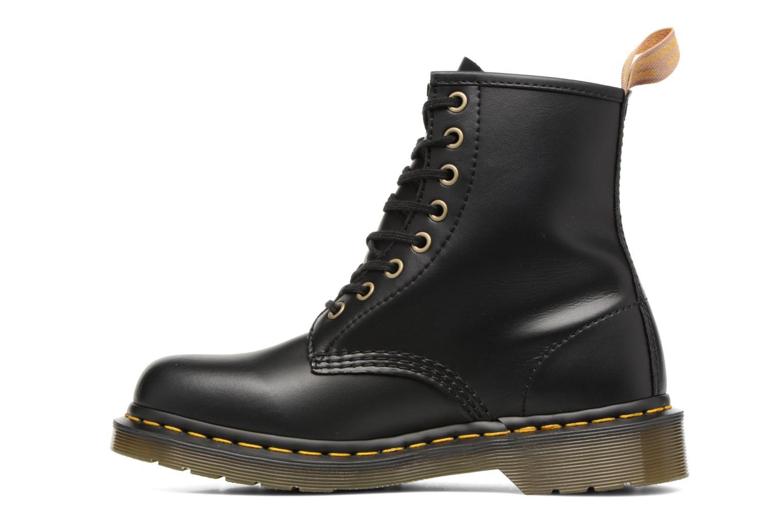 Bottines et boots Dr. Martens Vegan 1460 Noir vue face