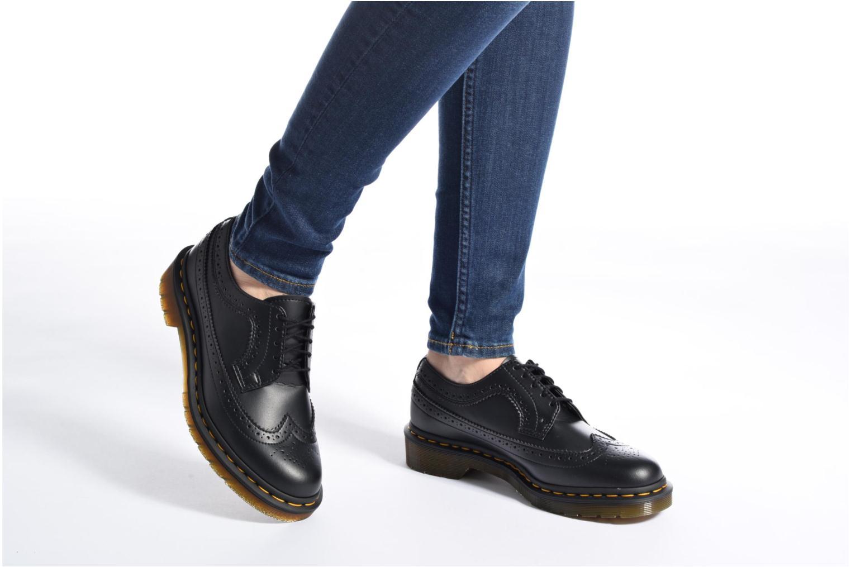 Chaussures à lacets Dr. Martens Vegan 3989 Noir vue bas / vue portée sac