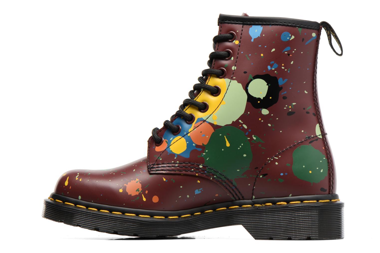 Bottines et boots Dr. Martens 1460 Splatter Rouge vue face