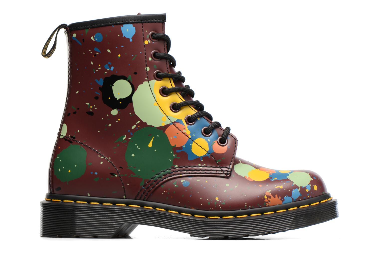 Bottines et boots Dr. Martens 1460 Splatter Rouge vue derrière