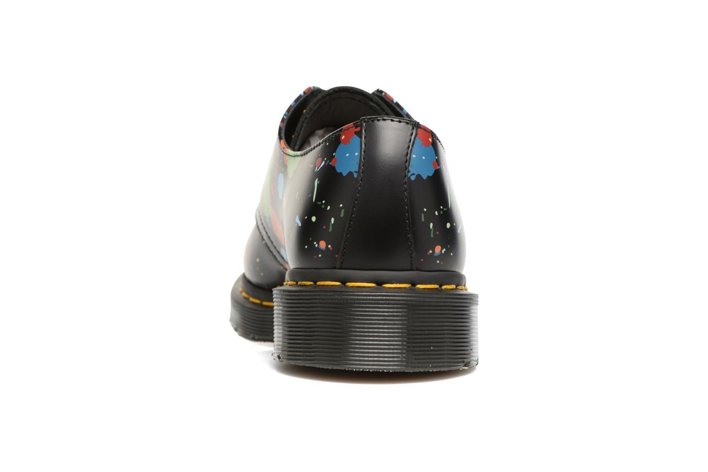 Chaussures à lacets Dr. Martens 1461 Splatter Noir vue droite