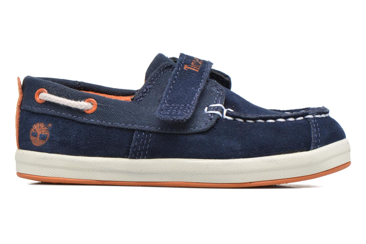 Velcro shoes Timberland Dover Bay H&L Boat Blue back view
