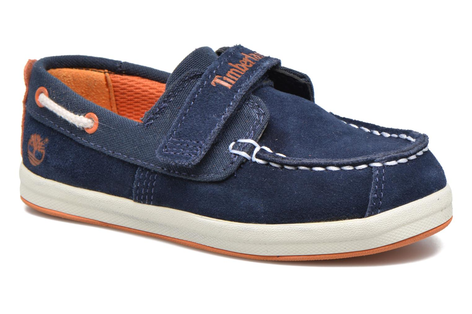 Velcro shoes Timberland Dover Bay H&L Boat Blue detailed view/ Pair view