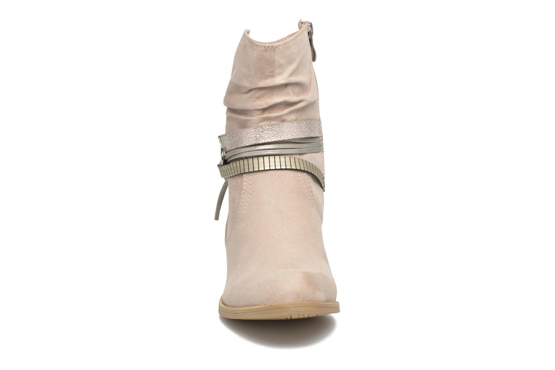 Bottines et boots Marco Tozzi Flep Beige vue portées chaussures