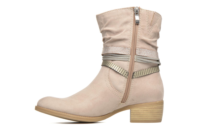 Bottines et boots Marco Tozzi Flep Beige vue face