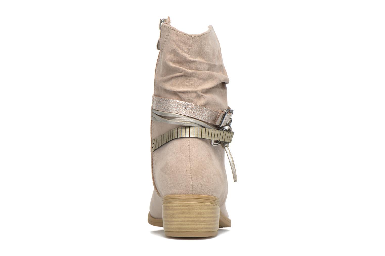 Bottines et boots Marco Tozzi Flep Beige vue droite