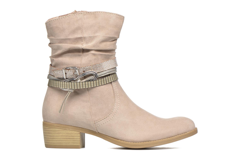 Bottines et boots Marco Tozzi Flep Beige vue derrière