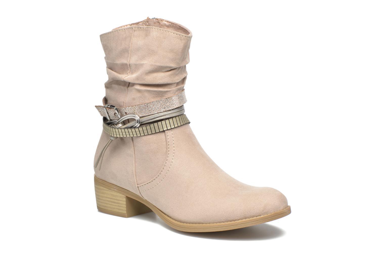 Bottines et boots Marco Tozzi Flep Beige vue détail/paire