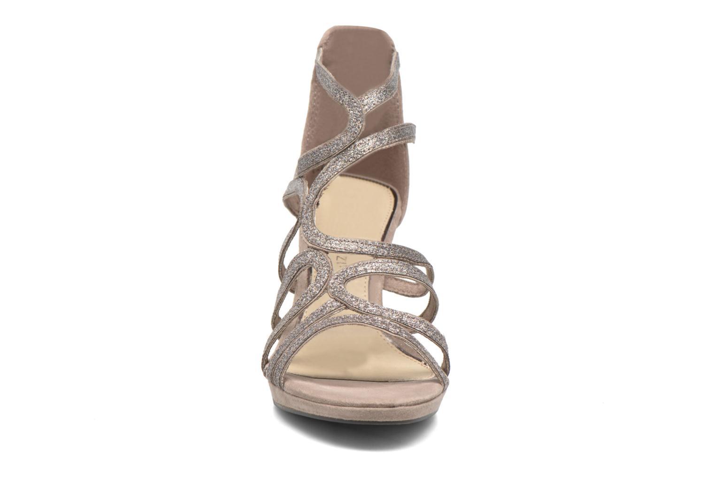 Sandales et nu-pieds Marco Tozzi Samo Marron vue portées chaussures