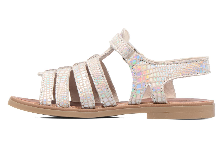 Sandalen Achile Katagami Zilver voorkant