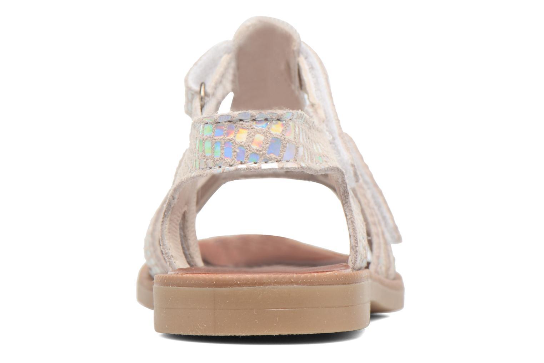 Sandalen Achile Katagami Zilver rechts