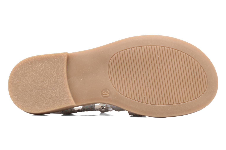 Sandales et nu-pieds Achile Katagami Argent vue haut