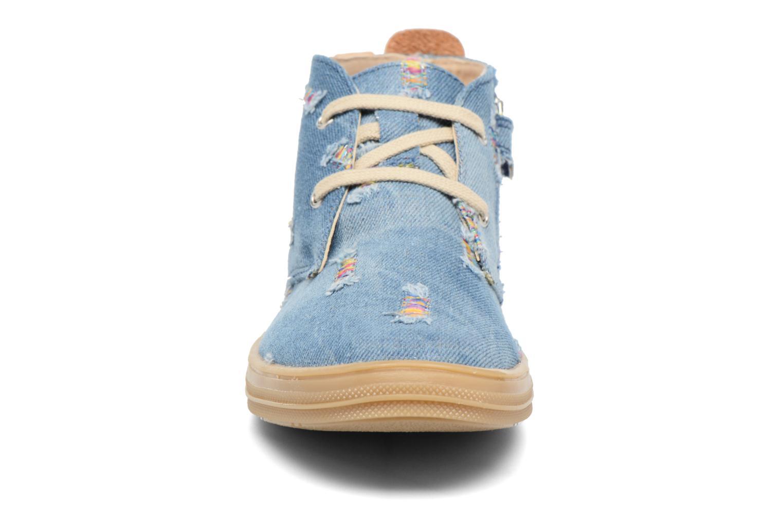 Baskets Achile Andrea Bleu vue portées chaussures
