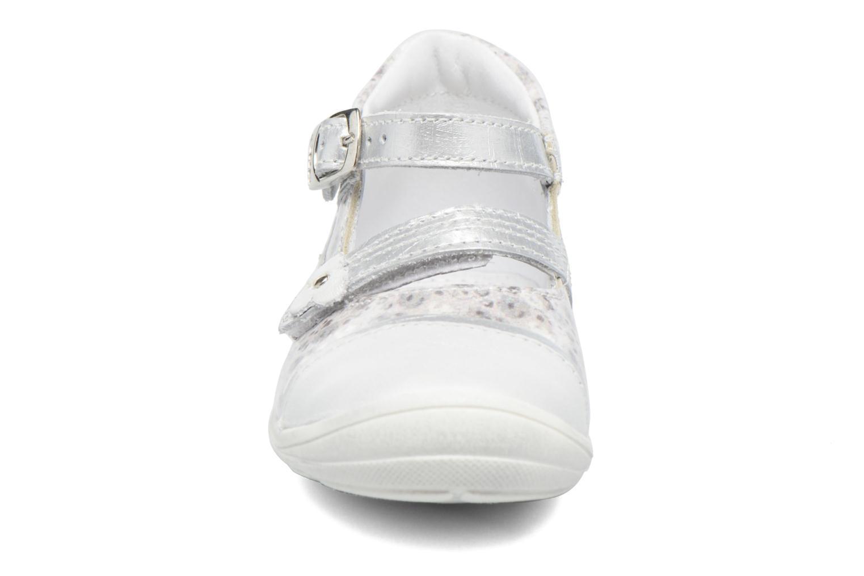 Ballerines GBB Peggy Gris vue portées chaussures