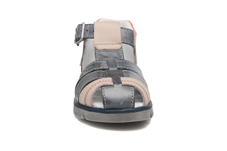 Sandales et nu-pieds GBB Pelage Bleu vue portées chaussures