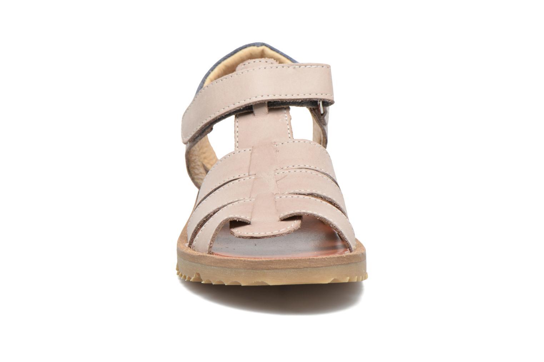 Sandales et nu-pieds GBB Pathe Gris vue portées chaussures