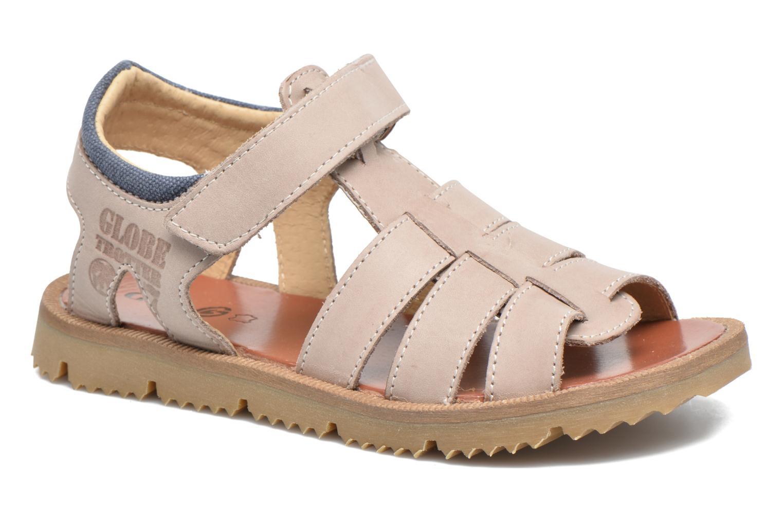 Sandales et nu-pieds GBB Pathe Gris vue détail/paire