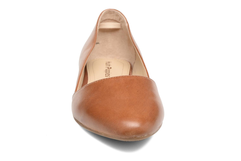 Ballerines Hush Puppies Jovanna Marron vue portées chaussures