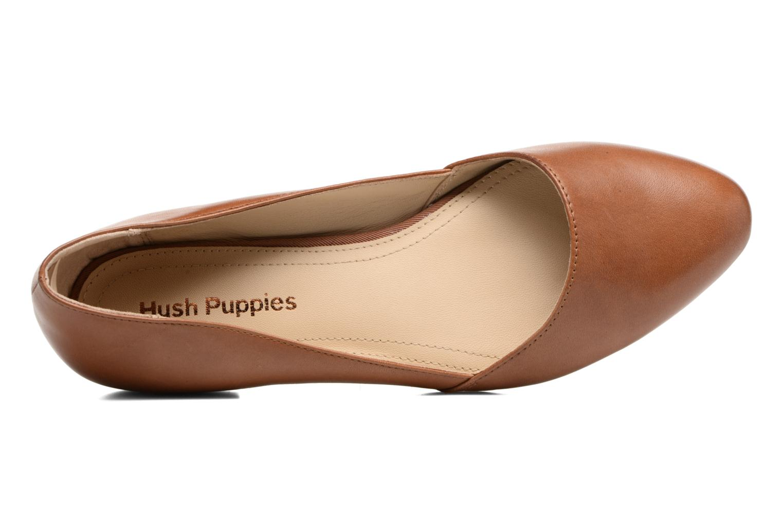 Ballerines Hush Puppies Jovanna Marron vue gauche