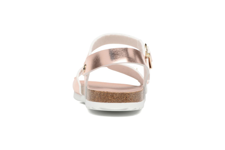 Sandales et nu-pieds Fresas by Conguitos Claudia Or et bronze vue droite