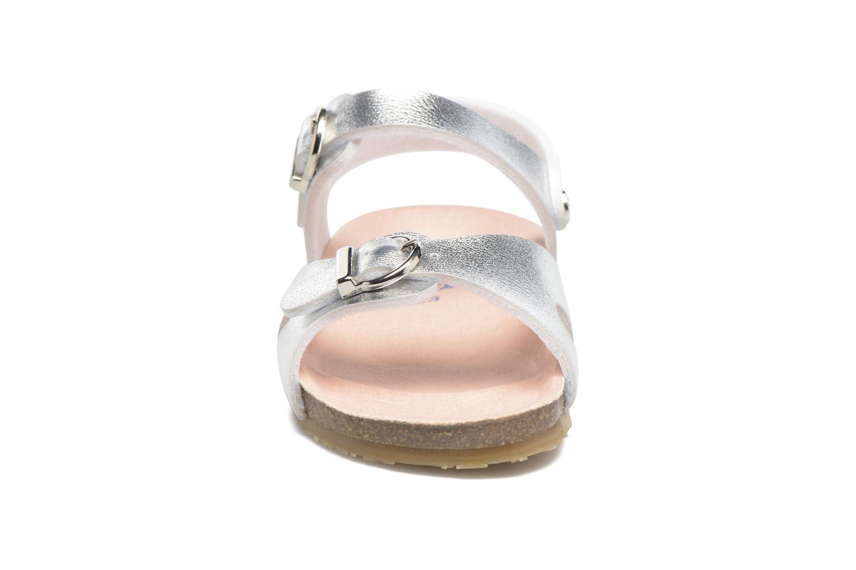 Sandales et nu-pieds Osito by Conguitos Begona Argent vue portées chaussures