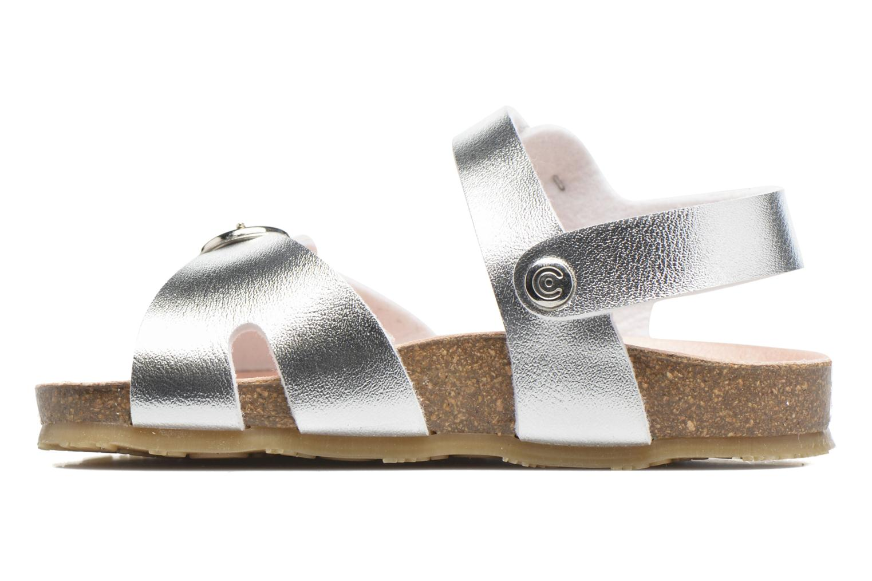 Sandales et nu-pieds Osito by Conguitos Begona Argent vue face