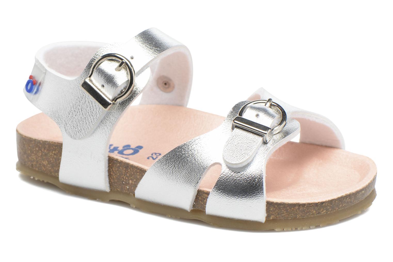 Sandales et nu-pieds Osito by Conguitos Begona Argent vue détail/paire