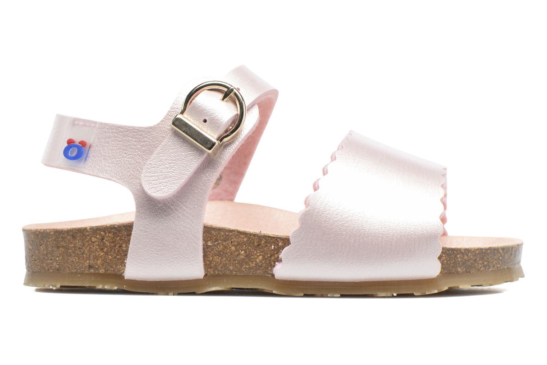 Sandales et nu-pieds Osito by Conguitos Bella Rose vue derrière