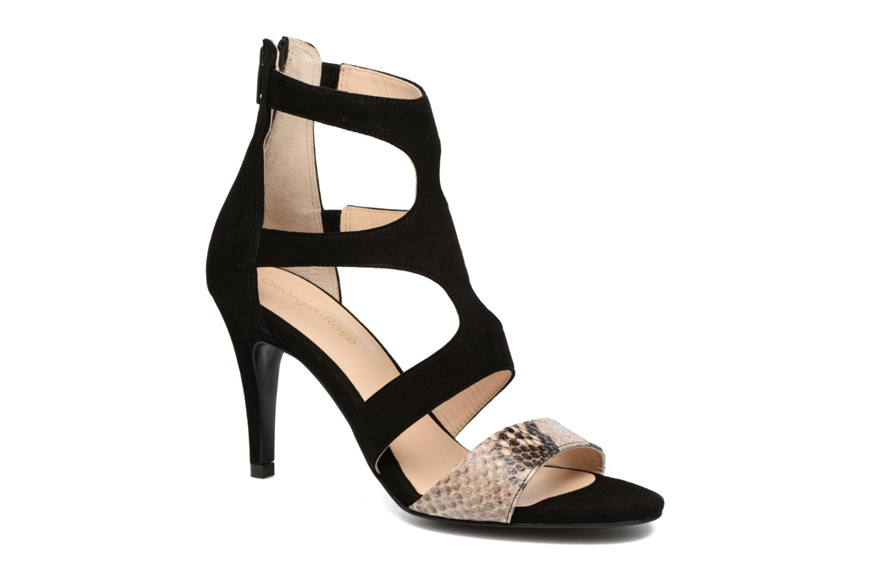 Sandales et nu-pieds Georgia Rose Sichic Noir vue détail/paire