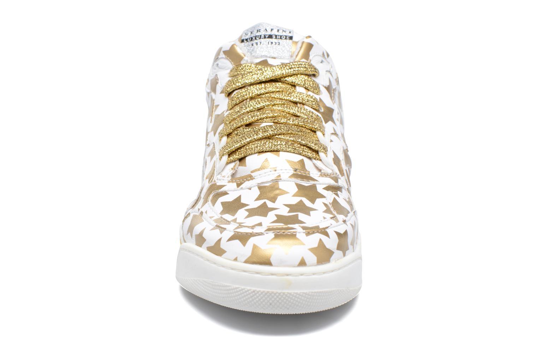 Baskets Serafini Skate Or et bronze vue portées chaussures
