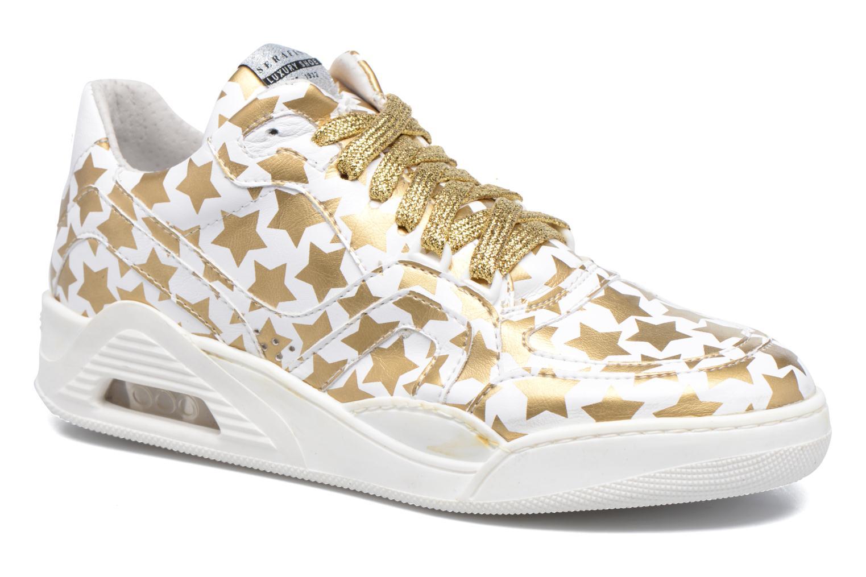 Baskets Serafini Skate Or et bronze vue détail/paire