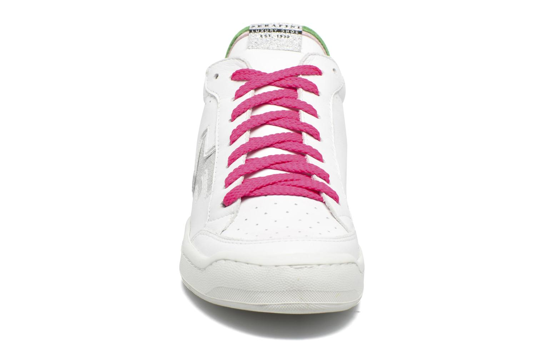 Sneakers Serafini San Diego Low Bianco modello indossato