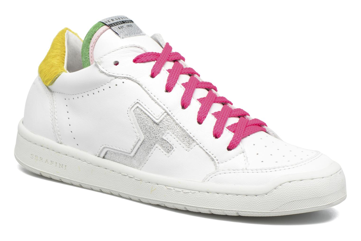 Marques Chaussure femme Serafini femme San Diego Low White & Multicolor